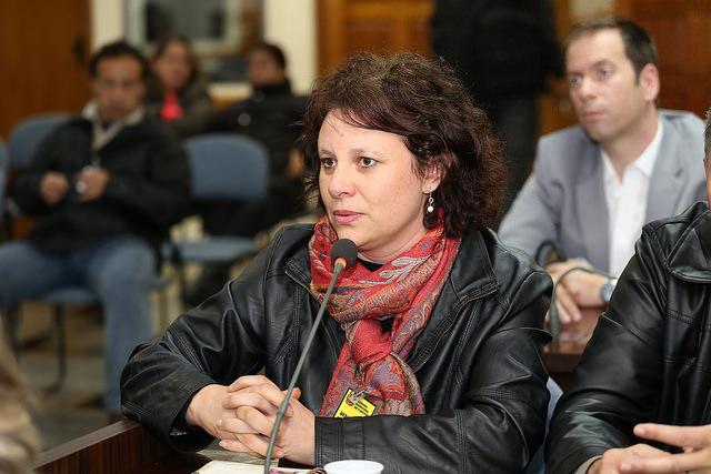 Salete Bez, conselheira do Cefuria (Foto: Andressa Katriny, da Câmara Municipal de Curitiba)