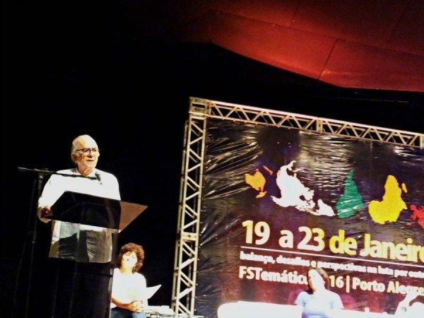 O sociólogo português Boaventura de Sousa Santos | Foto: Fernanda Canofre/Sul21