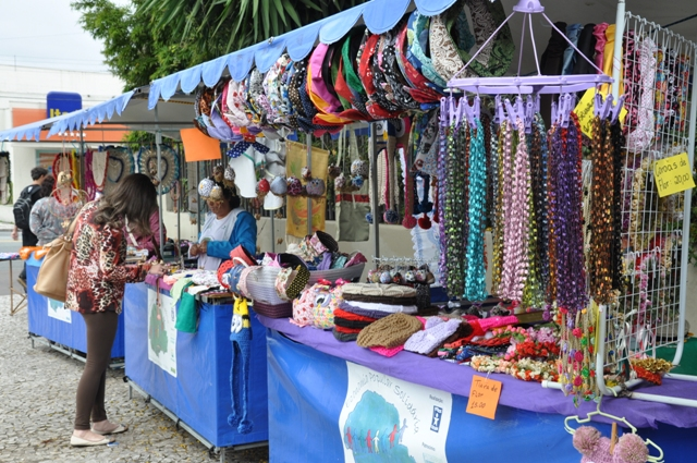 Feira de Economia Solidária__Foto: Camilla Hoshino