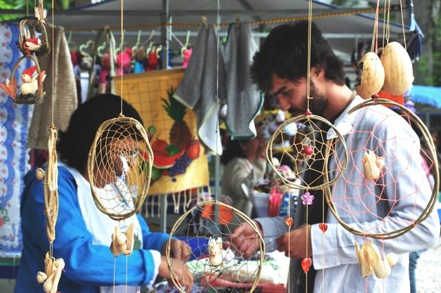 Feira de Economia Solidária_Foto: Camilla Hoshino