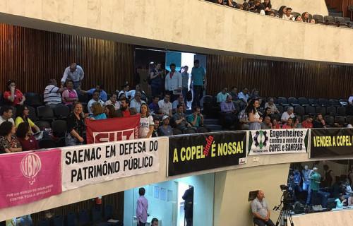 A manifestação será a partir das 13h30, no plenário da Assembleia Legislativa do Paraná (ALEP) / Ana Beatriz Pazos